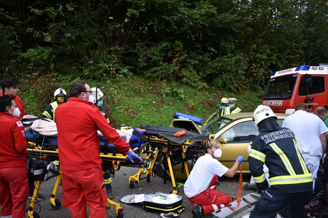 Schwerer Verkehrsunfall in Alberndorf